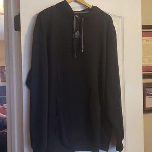 Adidas Black Hooded Sweatshirt